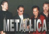 Metallica - 'Group Short Hair' Postcard
